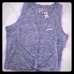 NWT knot front VS Pink Tank